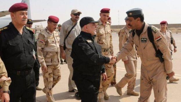 Primer ministro en Mosul