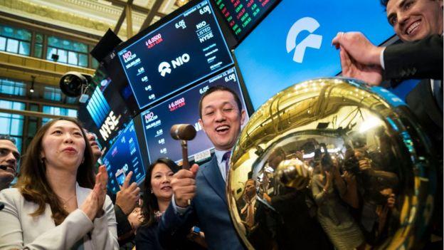 NIO salió a la bolsa de Nueva York en 2018