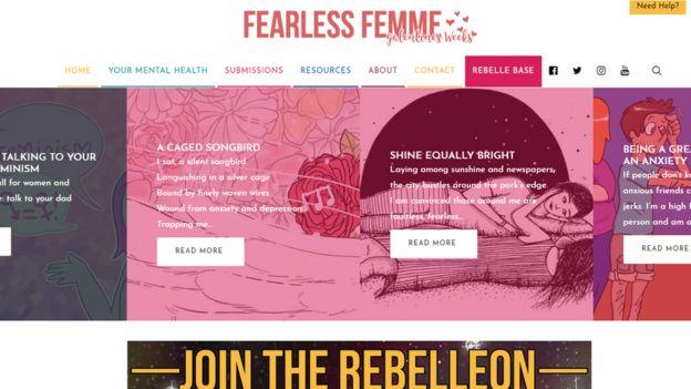 Online Magazine Tackles Mental Health Stigma Among Young Women Bbc