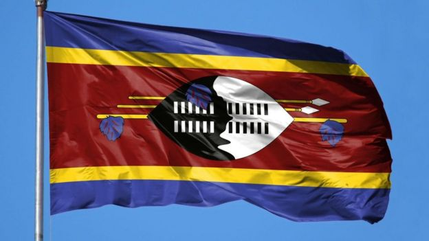 Bandeira Eswatini