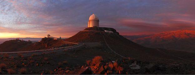 El Observatorio de La Silla en Chile Foto: ESO/F. Kamphues