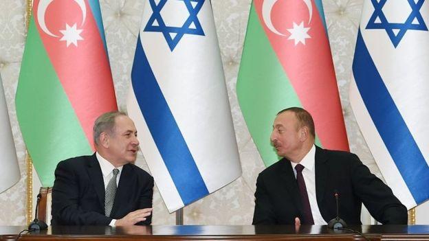 Benyamin Netanyahu və İlham Əliyev