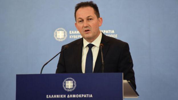 Hükümet Sözcüsü Stelyo Petsas
