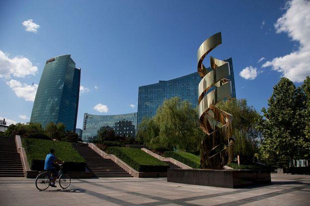 北京西部的中關村是中國很多高科技和互聯網企業的聚集地。