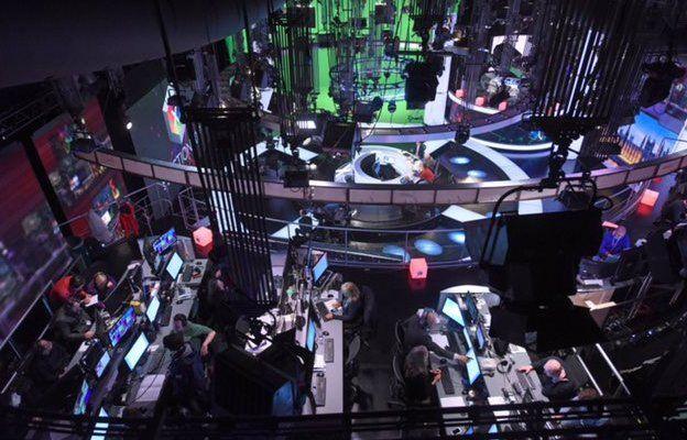 BBC Election 2017 studio