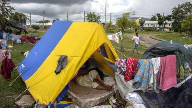 Pobreza extrema en Brasil