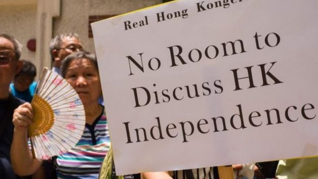 Hong Kong separatism has limited public support