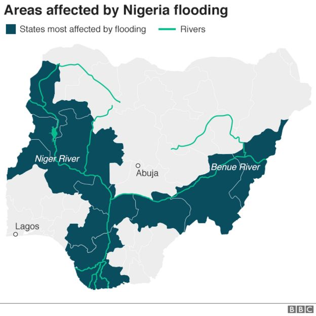Nigeria floods kill more than 100 - BBC News