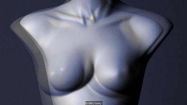 Ilustração busto de mulher