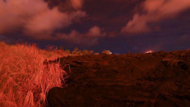 Continúa la erupción del volcán Kilauea en Hawái