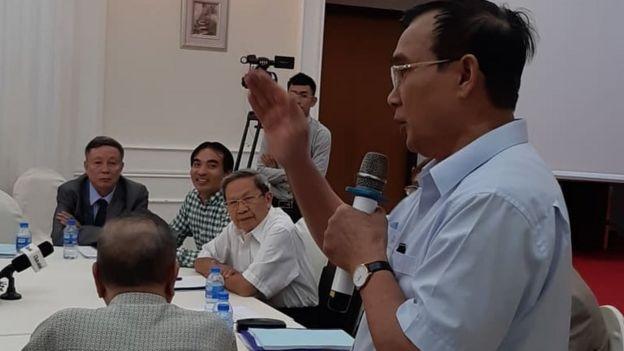 Thiếu tướng, Anh hùng lực lượng vũ trang nhân dân Lê Mã Lương phát biểu