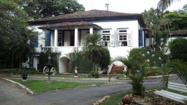 Hotel-fazenda em Bananal, na época uma casa de fazenda onde d. Pedro passou