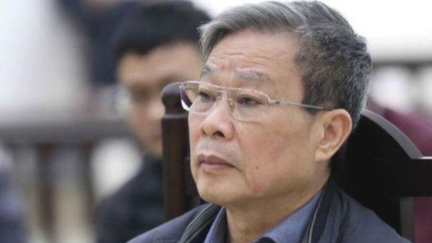 Cựu Bộ trưởng TT&TT Nguyễn Bắc Son trong một phiên tòa