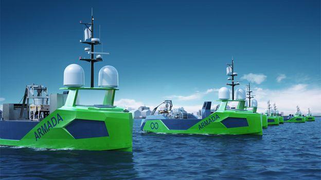 Barcos robóticos.