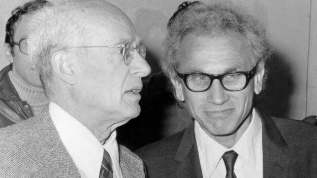 Nathan Rosen y Joseph Weber
