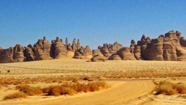 كانت مدائن صالح مدينة مزدهرة على أحد الطرق التجارية الهامة القديمة