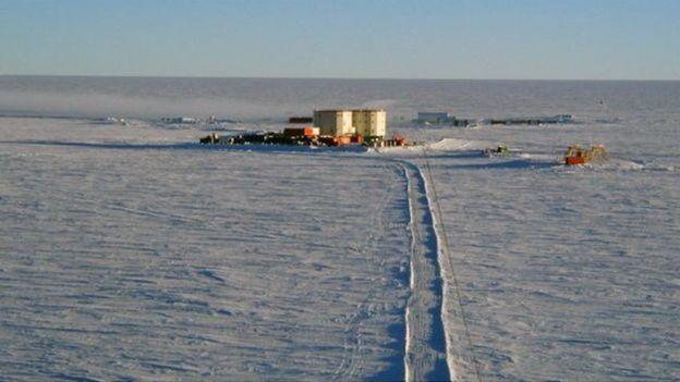 Base na Antártida