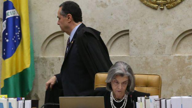 Barroso e Cármem Lúcia