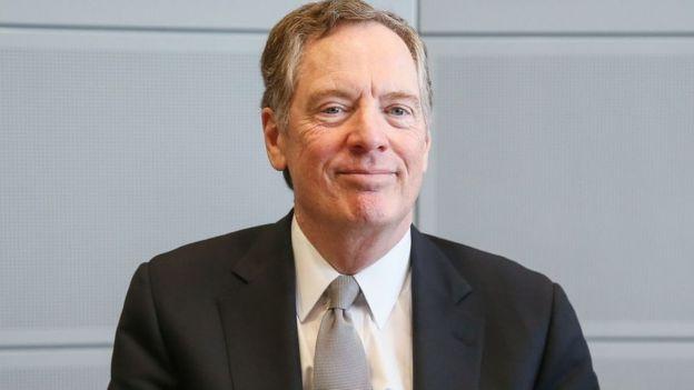 America's top trade negotiator, Robert Lighthizer
