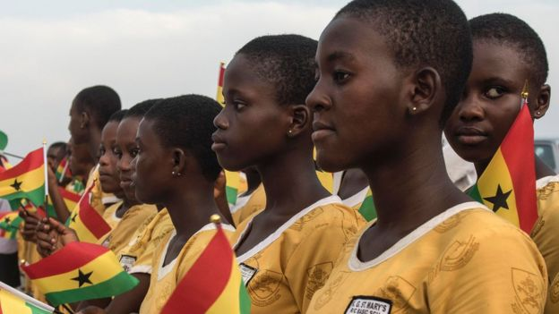 Ghanaian students