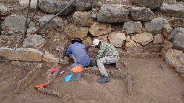 Excavations in Harlaa