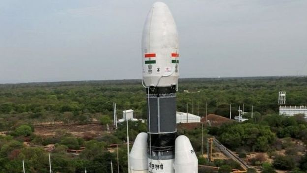 پرتاب سفینه فضایی هند به کره ماه متوقف شد
