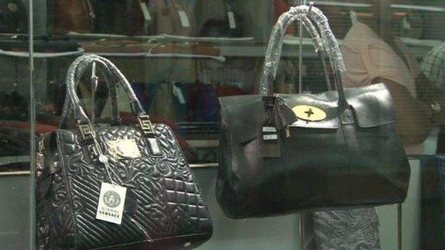 What s wrong with buying fake luxury goods  - BBC News 1fd9eeb1bc