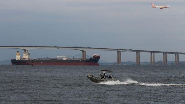 El puente Rio-Niterói fue construido durante el régimen militar.