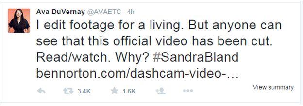 Ava DuVernay tweet