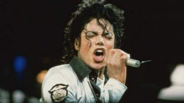 """為""""流行樂之王""""的美國歌手麥克爾·傑克遜"""
