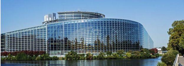 Штаб-квартира Европарламента во французском Страсбурге