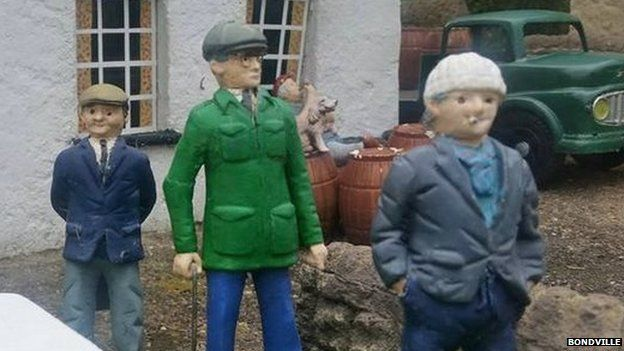 Last of the Summer Wine character models