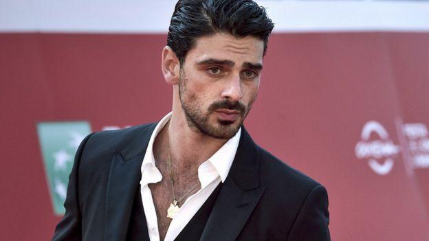 Italian actor Michele Morrone