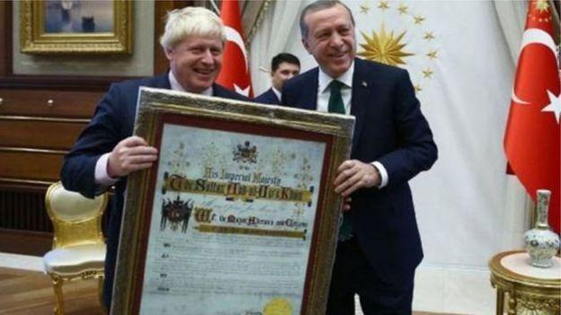 Johnson ve Erdoğan