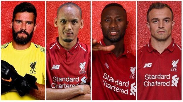 اللاعبون الذيم ضمهم ليفربول في فترة الانتقالات الحالية