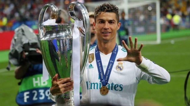 Ronaldo ameshinda mara tatu mfululizo kombe la klabu bingwa Ulaya akiwa na Real Madrid