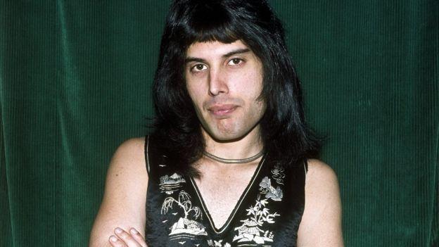Freddie Mercury. Foto de archivo, 1967.