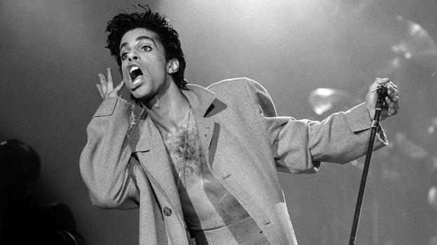 El cantante Prince