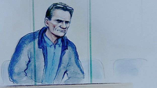 William Billingham court sketch
