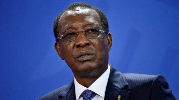 Madaxweynaha Chad Idriss Deby