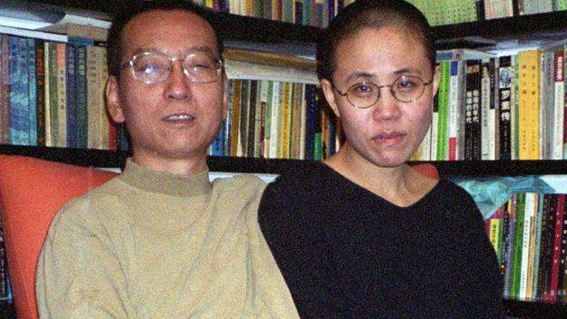 劉曉波與劉霞2002年拍攝的相片