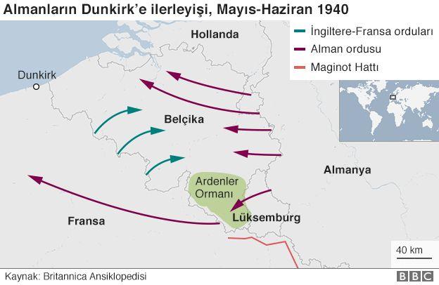 Dunkirk haritası