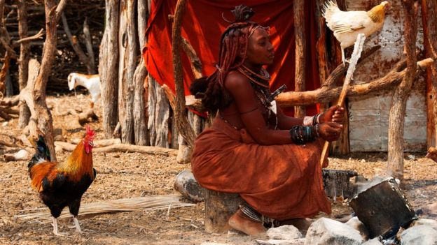 Himba people living their traditional life appear to have remarkable visual concentration, an ability to stay focused on the smallest details