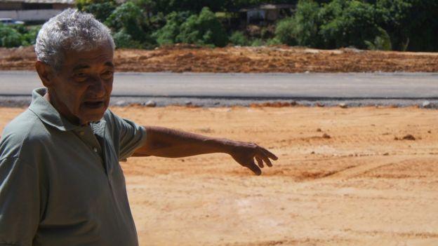 Romildo Ramos, que tinha um sítio completo com árvores frutíferas em Recife