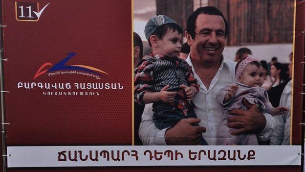 Ermənistanın ən zəngin sahibkarlarlndan biri Qaqik Tsarukyanın Firavan Ermənistan Partiyası
