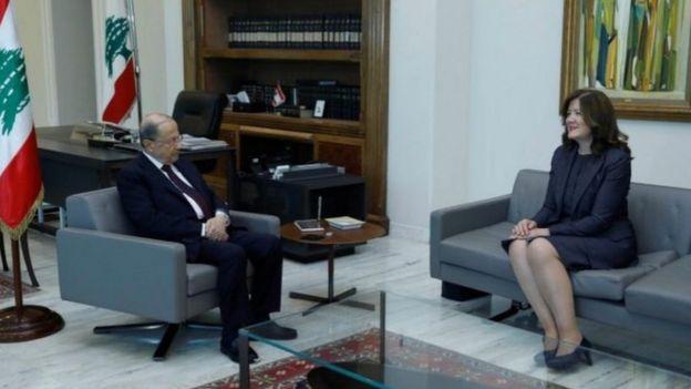 """يرى البعض أن تصريحات السفيرة دوروثي شيا """"تجاوزت كل الأعراف الدبلوماسية"""""""