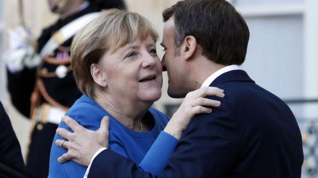 Меркель і Макрон
