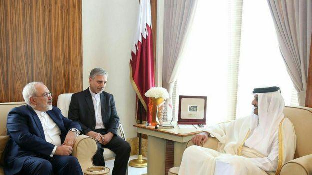 Risultati immagini per روابط قطر و ایران