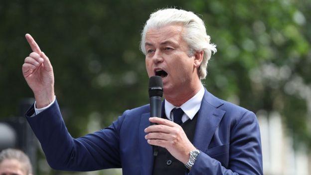 Hollandalı aşırı sağcı politikacı Wilders