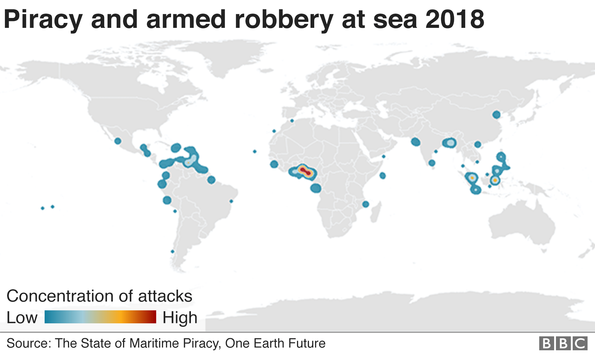 Piracy around the world
